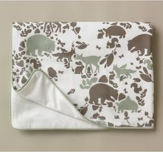 WOODLAND TUMBLE STROLLER BLANKET - Blankets - Baby   DwellStudio