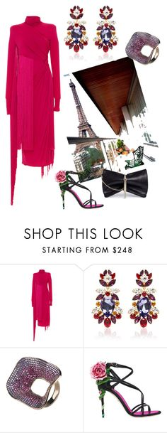 """""""Untitled #113"""" by soulchicjourneyatelier ❤ liked on Polyvore featuring Emilio Pucci, Dolce&Gabbana, Latelita and Jimmy Choo"""