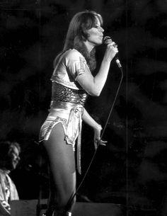 ABBA Frida Australia Tour 1977