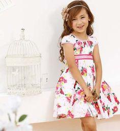 Vestido Floral Florido Infantil