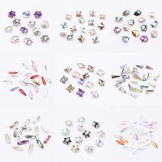 PandaHall Cabochons-----Pointed Back Glass Rhinestone Cabochon  for Fashion Jewelry #PandaHall #Cabochons #Rhinestone  #Jewelryfindings #jewelrysupplies