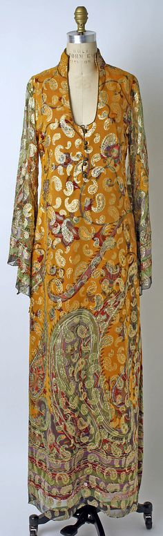 Dress, Thea Porter, 1969, British, silk