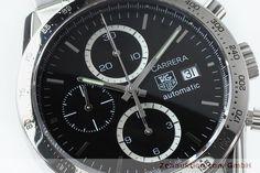 TAG Heuer Carrera Chronograph Stahl Automatik Kal. 16 ETA 7750 Ref. CV2016-2    152089
