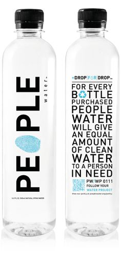 Another company that does a buy one, share one that I absolutely love. I haven't done any research to see where the sponsored bottle goes, i.e. a certain country, state, neighborhood, I still really like the concept of it. This water isn't sold anywhere in my local area, so I would need to research where it is sold. Perhaps it is a newer product that hasn't made it's way here yet.