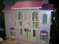 1000 Images About Barbie Doll Houses On Pinterest