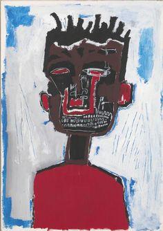 Jean-Michel Basquiat, 'Self-portrait', 1984