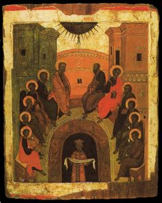Sips From the Well: ICON OF PENTECOST