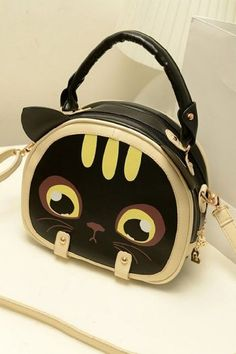 Minnie Hand Bag $40 #handbag #cat #kitty #cute @Kitty Purring