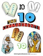 Week 1 & 2:  Ten Commandments Lapbook & Printables