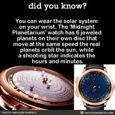 That means Saturn will only complete an orbit if you keep the watch in good shape for 29 years. << wow... I WANT IT