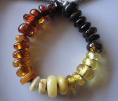 A wonderful collection of Amber from a member-collector at Trollbeads Gallery Forum!
