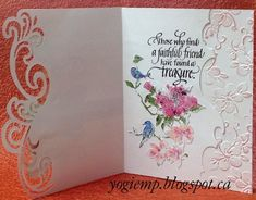 http://quietfirecreations.blogspot.ca/ Roses die-namics gemini lyra stamps quietfire