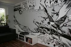 Mural_2011 by Pawel Piechnik, via Behance