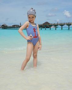Little Girl Bikini, Little Girl Swimsuits, Cute Baby Girl, Cute Girls, Little Girl Fashion, Kids Fashion, Anastasia Knyazeva, Young Girl Models, Junior Fashion
