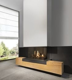 Discover all the information about the product Gas fireplace / contemporary / closed hearth / corner FAIRO 100 - Kal-fire and find where you can buy it. Living Room Decor Fireplace, Home Fireplace, Fireplace Remodel, Modern Fireplace, Home Living Room, Fireplace Ideas, Fireplaces, Fireplace Hearth, Contemporary Fireplace Designs