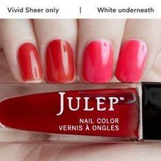 Julep - Kimball (Wonder Maven) High-voltage watermelon vivid sheer
