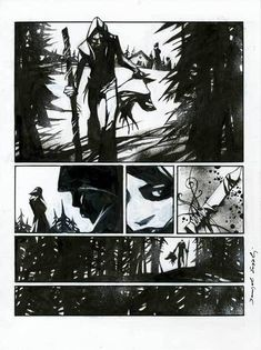 Comic Page, Storyboard, Pilot, Digital Art, Sketch, Comic Books, Characters, Illustrations, Black And White