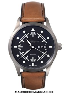 Watch from a collection at Maurice de Mauriac, Swiss Watchmakers. Visit our website for more details: http://mauricedemauriac.ch/