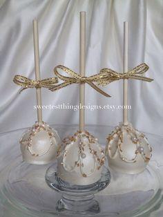 24 elegantes Oreo Pops / trufa de Oreo Pops Cake Pops por el