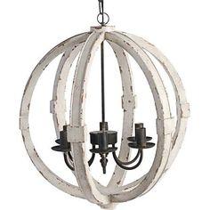 Orb Chandelier Industrial Sphere Stainless Steel Polished