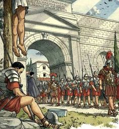 On the march Ancient Rome, Ancient History, Roman Drawings, Imperial Legion, Fantasy World Map, Greek Pantheon, Roman Warriors, Roman Legion, Roman Empire