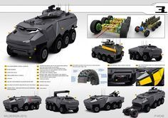 The Concept of a New Andarkan Wheeled Armoured Vehicles | Defence blog