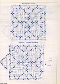 *TEJEDORAS EN ACCIÓN* Crochet Diagram, Crochet Chart, Crochet Motif, Crochet Doilies, Crochet Stitches, Crochet Bedspread, Crochet Cushions, Crochet Pillow, Doily Patterns