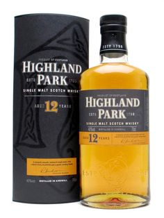 Review #5: Highland Park 12 #scotch #whisky #whiskey #malt #singlemalt #Scotland #cigars