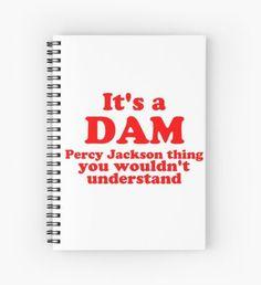 Dam Percy Jackson Thing Cuaderno de espiral