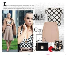 """SheIn 8/VI"" by nermina-okanovic ❤ liked on Polyvore featuring Oris, Lipsy, Topshop and shein"