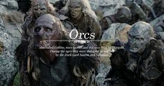 Creatures of Middle-earth: Orcs