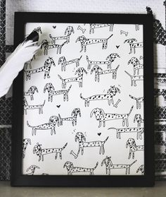 DIY Personalized Pet Art....gotta do this with my kitty:)