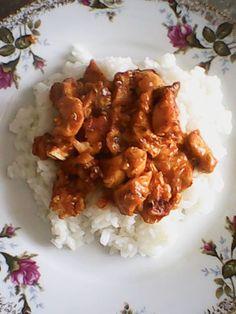 Obiad podano, sos karaibski z ryżem :) #sosyŁowicz https://www.facebook.com/photo.php?fbid=893654140709790&set=o.145945315936&type=1
