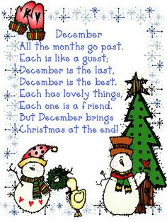 December Poem - Pinned by @PediaStaff – Please visit http://ht.ly/63sNt for all (hundreds of) our pediatric therapy pins