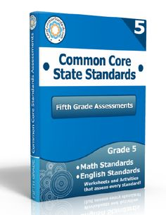 Description: Fifth Grade Assessment Workbook, 5th Grade Assessment Workbook, Fifth Grade Common Core Assessment Workbook, 5th Grade Common C...