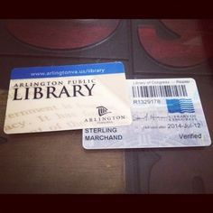what does your library card look like?
