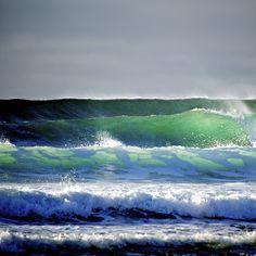 Wave train Waves, Outdoor, Beaches, Outdoors, Outdoor Living, Garden, Wave, Beach Waves