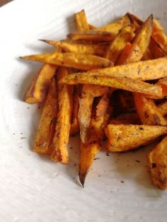Frites de patates douces Carrots, Food Porn, Vegetables, Oven Cooking, Healthy Recipes, Sweet Potato, French Fries, Eating Healthy