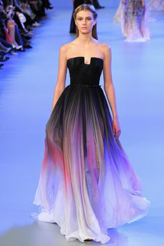 ELIE SAAB gown spring couture show 2014