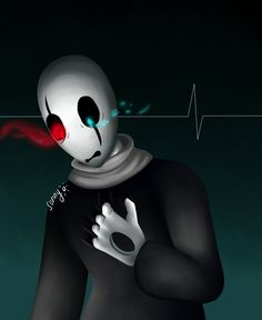 I like Gaster alot so I decided to do a fanart. I'm very satisfied with the result