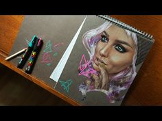 Lora Arellano - Time-lapse drawing