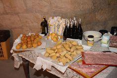 Arancini e gnocchi fritti in produzione