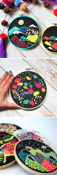 Embroidery by Katy Biele / on the Blog!