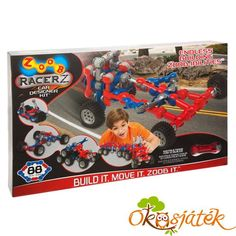 Zoob Mobile Car Designer Kit By Poof Products Inc / Slinky