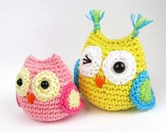Little owl crochet.