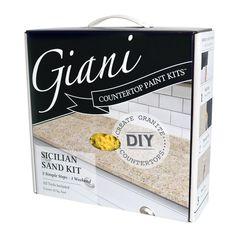 Giani Sicilian Sand Countertop Paint Kit