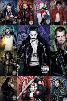 Suicide Squad - Character Posters