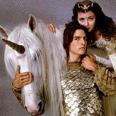 Lily and Jack (Mia Sara & Tom Cruise). Legend, 1985