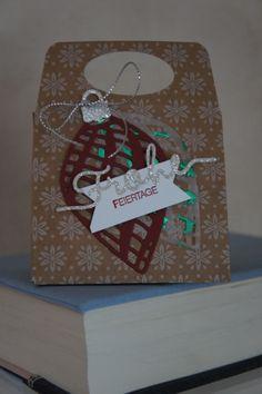Punchboard für Geschenktüten.