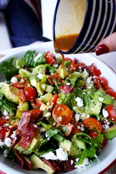 BLT Bowl by thelondoner #Salad #BLT